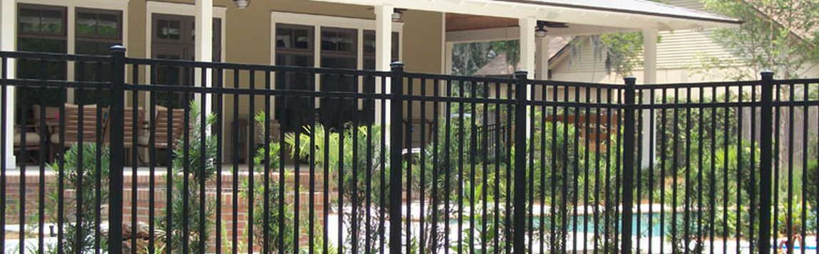 Gainesville Decorative Aluminum Fences
