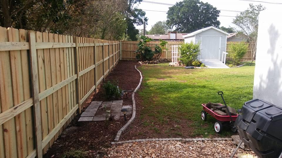 Board On Board Privacy Hercules Fence Company Gainesville